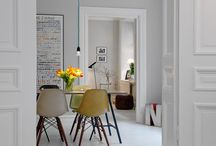 Homes: Living Room / by Christine @ littlehouseonthecorner.com