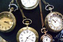 Zak horloges Steampunk klok / klein  € 13,95  groot € 14.95