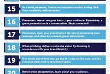 Presentations / Presentation Tips and Ideas
