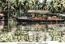 Kerala Backwaters by Curioso