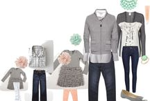 wear  |  family styling / Dressing the whole family for your upcoming photography session.