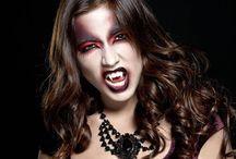 Maquillage pour halloween / Tutoriels pour un maquillage créatif de halloween