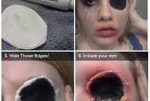 Horror make-up