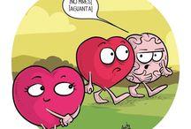 Cerebrito y corazón