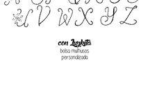 abecedario para bordar en cinta