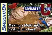ConcreteU / Our concrete team shows you how to construct some great pieces using our materials.