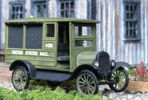 Vehicles for Model Train Layouts & Dioramas / Cars, Trucks, and other Vehicles
