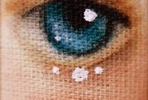 DOLL EYES -FACE- IDEA - TUTORIALS -  PAINTING