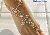 Foot jewellery !