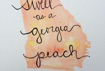 Georgia Peaches and Good Ole Boys