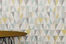 Wall paper hallway