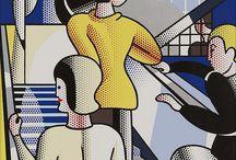 Lichtenstein / Images from Roy Lichtenstein