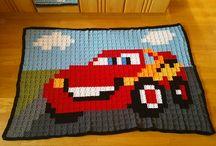 crochet blanket mcqueen