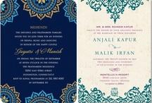 Invitations / rustic to traditional invitations