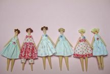 Dolls..making and dressing