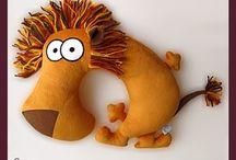 мягкая игрушка львы тигры