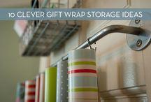 storage ideas / by Diane Spoklie