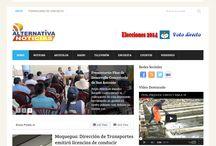 Alternativa Noticias - Red Nacional de Noticias / Portal Informativo de Moquegua Noticias Minuto a Minuto Online. www.alternativanoticias.net