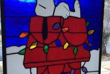 Snoopy in vetro