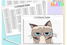 Math: Coordinate Planes / Coordinate Plane Resources, Activities, and Ideas for Math Teachers, Educators, and Students in Upper Elementary and Middle School