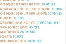 workouts  / by Brittany Walker