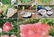 gardening stuff / bird bath