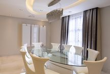 Interiors International Dining Room / Various dining rooms showcasing concepts and styles that have been put together for our clients