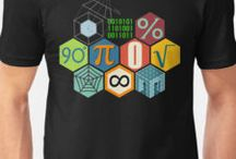 Math Clothing and more / create with the mathematical objects to be used everyday, gifts and ideas. Curiosity for fans of this discipline, for the school, the furniture and the outdoor life.