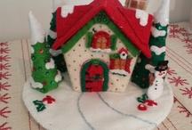casitas de navidaad
