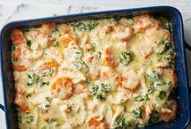 C - Casseroles, one dish