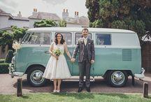 Pembroke Lodge Wedding / Vintage 50's inspired wedding at Pembroke Lodge with Andie and Dan