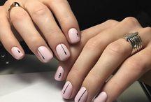 Uñas de color rosa