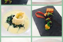 Yummy Food by Llechwen Hall / Rosette awarded for the past 8 years, Llechwen Hall sources the finest local produce which Head Chef Paul Trask and his excellent team lovingly prepare for your enjoyment