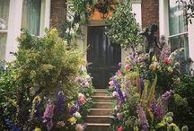 Floral entryways