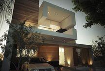 fachadas / Modelos fachadas modernas