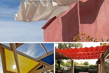 Cable Awnings (for shade)