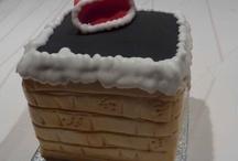 Xmas cake / Chimney square xmas cake