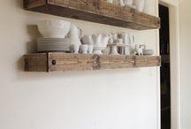 estante de cocina