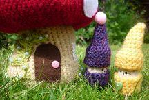 Crochet Gnome/Fairies