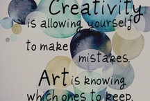 Creativity Abounds / Creativity lives within all of us - unleash your potential.
