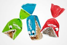 Snack packaging / Interesting, well-designed, evocative, award-winning, delicious packaging