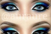 Blues & Teals Eye Makeup to Try.