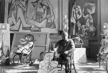 El artista, su mundo y estudio. / by Gabriel Navarro Martin