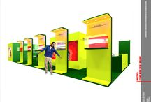 INOTTICA MIDO - Render project / Custom booth project for Inottica Mido in Milan