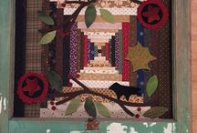 Primitive and Folk Art Quilts / My favorite style, speaks straight to my heart...