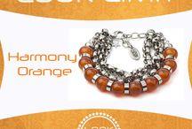 Pulseras Harmony / pulseras de piedra preciosa que inspiran elegancia y glamour
