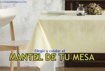 LIMPIAR Y MANTENER LOS MANTELES