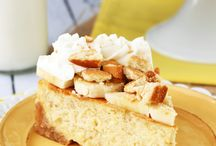 Banana puding cheesecake