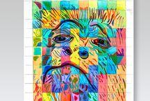 RVA 1 / researches + explorations for Visual Arts Class