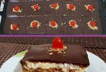καρυδοπιτα με σοκολάτα και κρέμα